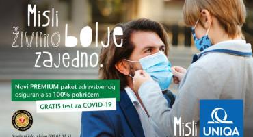 UNIQA poklanja test na COVID-19