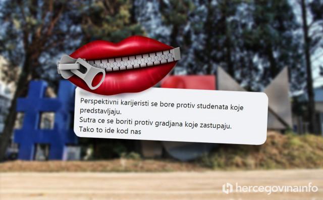 BLAGO NAMA Studentski zbor oprao ruke od prosvjeda i postao marioneta rektora
