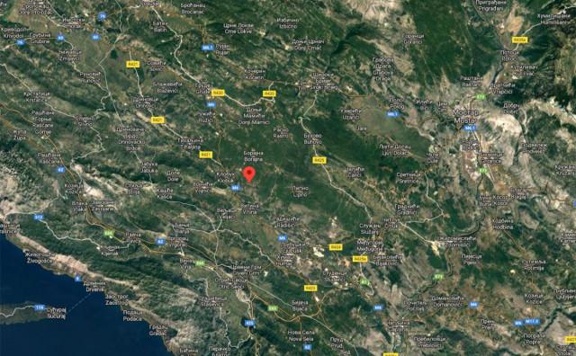 EPICENTAR KOD LJUBUŠKOG Umjeren potres pogodio Hercegovinu