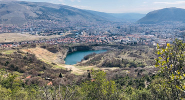 MOSTAR Ekolozi upozoravaju na devastiranje rudarskog kopa u Vihovićima