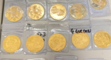NA LETU ZA GOTEBORG Državljanin BiH pokušao prokrijumčariti zlatne dukate
