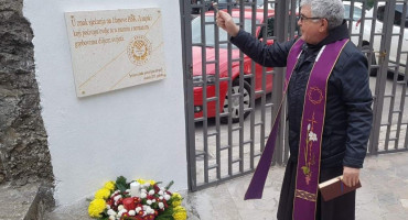 Otkrivena spomen ploča u znak sjećanja na sve članove HŠK Zrinjski
