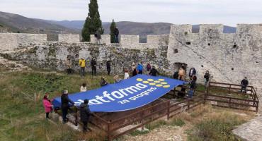 POČETAK KAMPANJE U borbu za Mostar s neobične lokacije