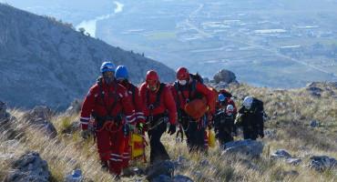 FGSS 18 spašavatelja iz cijele BiH na brdima oko Mostara i Stoca polagalo ispit