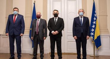 SUSRET Dodik se predstavniku iz EU požalio da BiH nedostaje novca