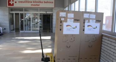Njemačka donirala dva respiratora Sveučilišnoj kliničkoj bolnici Mostar