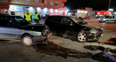 MOSTAR U sudaru dva vozila nastala veća materijalna šteta