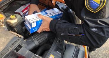 Optužen Trebinjac koji je policiji HNŽ-a bježao s punim automobilom cigareta