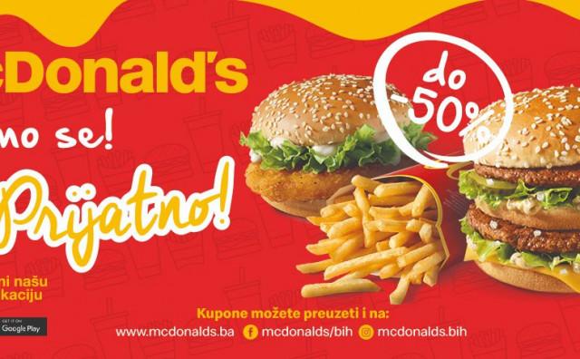 Super vijesti za sve ljubitelje kupona i slasnih McDonald's zalogaja
