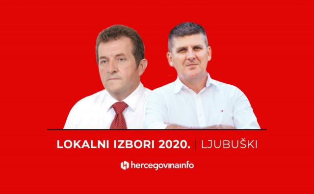 Paponja i Radišić o svojoj viziji Ljubuškog, Markotić nije stigao