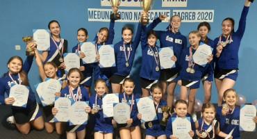 Hrvatski cheerleading klub Široki osvojio najviše medalja na Međunarodnom turniru Zagreb 2020.