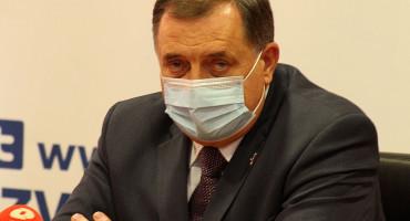 Dodik primljen u bolnicu, ima obostranu upalu pluća