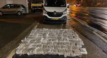 DIABLO Državljanin Hrvatske iz BiH pokušao iznijeti 110 kg droge