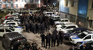 AKCIJA WOLF 250 policajaca vrši pretrese na 20 lokacija u BiH