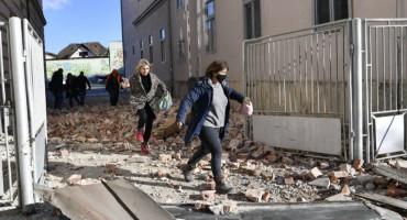 NEMA KRAJA Devet manjih potresa noćas oko Petrinje