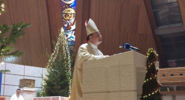 Biskup Petar Palić predvodio svetu misu u mostarskoj katedrali