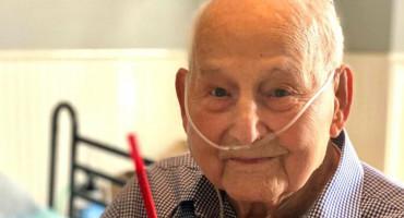 Veteran Drugog svjetskog rata u 104. godini prebolio koronavirus