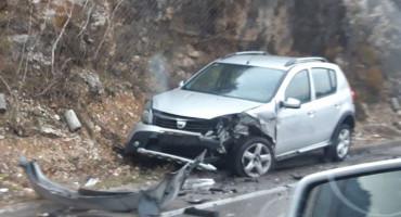 Teška prometna nesreća na ulazu u Jablanicu