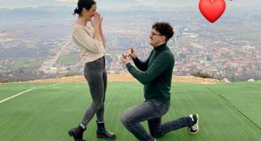 NA BADNJI DAN Još jedna romantična prosidba iznad Ljubuškog