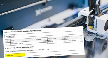Sveučilište otvorilo svoju tiskaru pa za 350 tisuća maraka usluge tiska dalo drugoj tvrtci