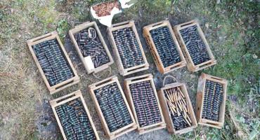 FUCZ U Mostaru pronađena bomba i trotilski meci, a u Konjicu 7000 komada zrna
