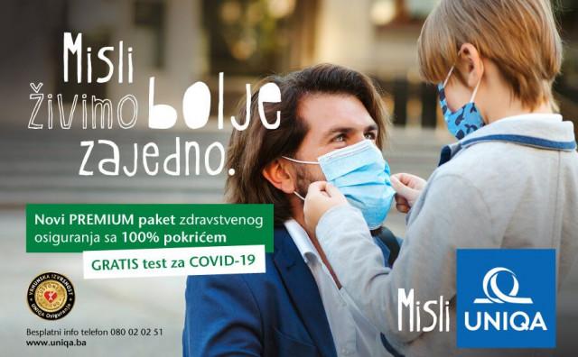 GRATIS test na COVID-19 uz kupovinu polise dobrovoljnog zdravstvenog osiguranja.