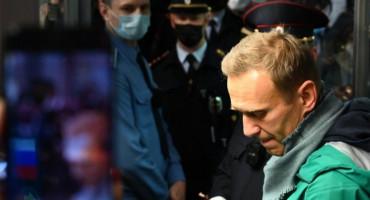 Po dolasku u Rusiju uhićen najveći Putinov kritičar Aleksej Navaljni