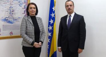 Glavna tužiteljica BiH i ukrajinski veleposlanik: Priča o ikoni i ukrajinskim ratištima