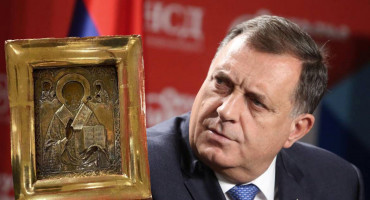 Dodik zbog ikone prozvao ukrajinskog ministra: Prestani se igrati države