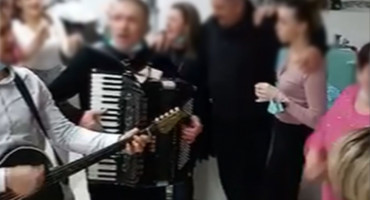 SKANDAL U HRVATSKOJ Tulum u covid bolnici uz tamburu i harmoniku
