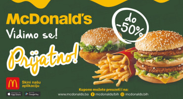 Nove uštede do 50 % u McDonald'su!