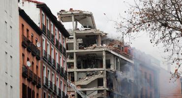 Najmanje troje mrtvih u snažnoj eksploziji u središtu Madrida