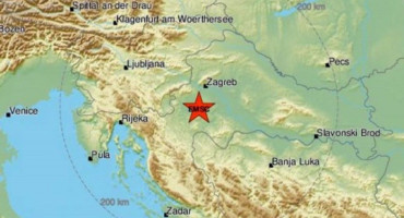 Tijekom noći niz potresa oko Siska, jutros novi i kod Zagreba