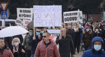 VLADA HNŽ Usuglašen protokol sa sindikatima; SINDIKAT Vlada je u panici, prosvjed je sutra