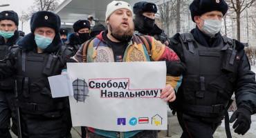 PROSVJEDI DILJEM RUSIJE Uhićeno 1500 ljudi