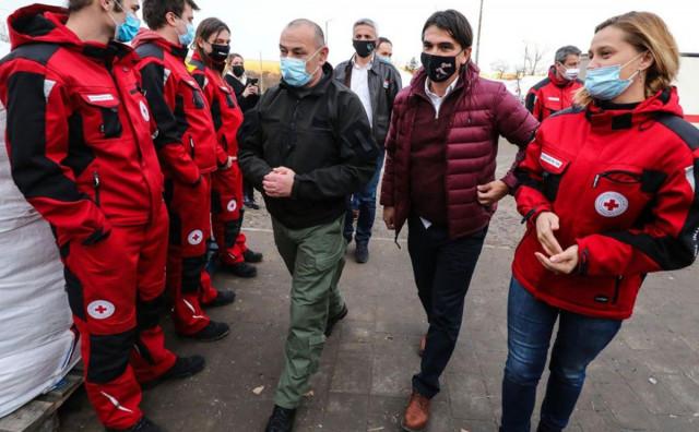 LIVNO ZA PETRINJU Zlatko Dalić stigao s konvojem humanitarne pomoći