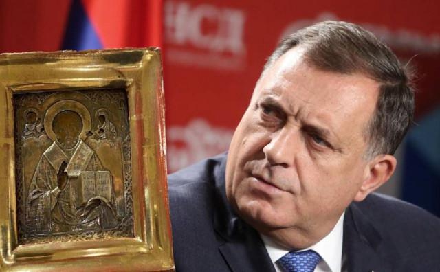 AFERA IKONA Dodik saslušan u Tužiteljstvu BiH