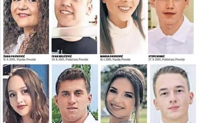 VJEŠTAČENJE Završena obdukcija nastradalih djevojaka i mladića