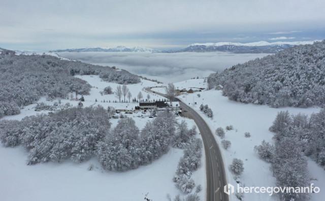 PROGNOZA ZA VIKEND Očekuje se 10 do 20 centimetara novog snijega