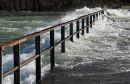 Poplavljen most u Baćevićima; u Ljubuškom proglašeno izvanredno stanje