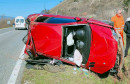 MOSTAR - ČAPLJINA U težoj prometnoj nezgodi ozlijeđene dvije osobe