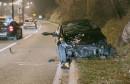 MOSTAR Najmanje jedna osoba ozlijeđena u teškoj prometnoj nezgodi