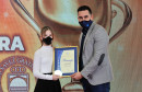 Petar Zadro i Iris Ćorić najbolji sportaši Mostara