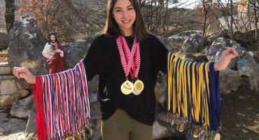 ĆURKOVIĆI SU PRAVA ATLETSKA OBITELJ Anna postavlja rekorde i velika je nada hercegovačke atletike