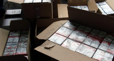 Na Orahu 'pao' s 4000 kutija cigareta