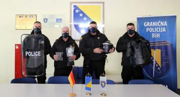 DONACIJA Njemačka policija opremila Graničnu policiju BiH