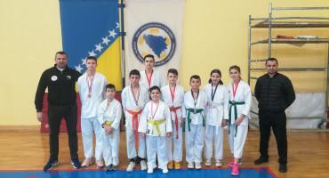 USPJEH Mostarski karatisti na turniru osvojili devet medalja