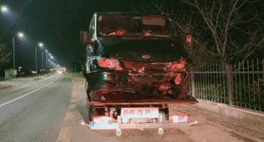 MOSTAR U izravnom sudaru dva vozila ozlijeđena jedna osoba