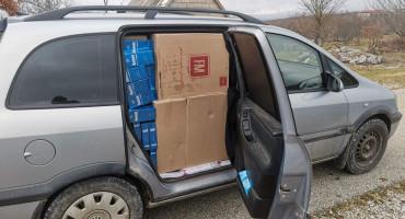 BILEĆA Državljanin BiH uhićen zbog krijumčarenja gotovo 18 000 kutija cigareta