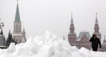 'Snježna apokalipsa' u Moskvi